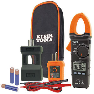 New Klein Tools Cl110kit Electrical Maintenance Test Kit