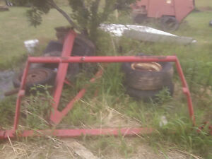 Vicon 1510 Round Hay Baler Axle And Hubs Good