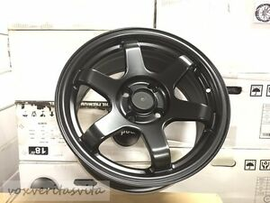 15 Grid Style Wheels Rims Satin Black 4 Lug Fits Acura Integra Rs Ls Gsr Vtec