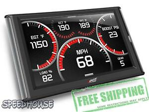 Edge Insight Cts2 84130 Color Touch Screen Display Monitor Gauge System