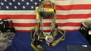 Scott 4 5 Wire Frame Scba