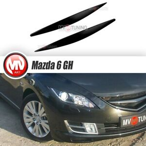 Eyelids Headlights Covers For Mazda 6 Gh Atenza 2008 2009 2010 2011 2012