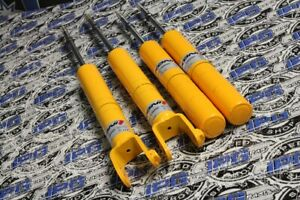 Koni Yellow Adj Sport Shocks Set For 1996 2000 Honda Civic Dx Lx Ex Si Ek Em1