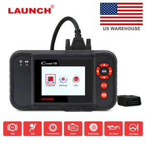 Launch X431 Creader Viii Abs Srs Epb Sas Obdii Scanner As Crp129 Car Code Reader