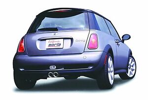 Borla 2004 2006 Mini Cooper S 1 6l Supercharged Hatchback Catback Exhaust System