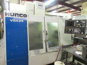 Hurco Vsx 24 Cnc Machining Center W 24 Atc Side Mount