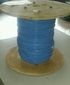 25 Ft Allied Wire M22759 34 8 6 8 Awg Blue Electrical Wire 133 c Single 600v