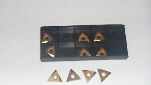 New 10pcs Tnmc 32nv Tin Coated Carbide Inserts