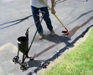 Asphalt Crack Filling Sealer Sealcoating