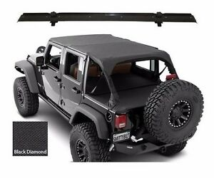 Smittybilt Extended Top Tonneau Header For 2007 2009 4 door Jeep Wrangler Jk