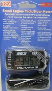 Electronic Specialties Es 329 Small Engine Tach Hour Meter One Year Warranty