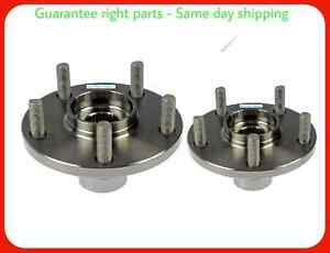 Front Wheel Hub Only For Honda Civic Si 2 4l 2012 2015 Pair Fast Shipping