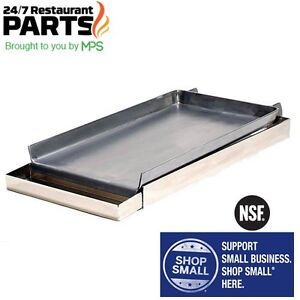 2 Range Burner Griddle 12 Wide X 27 Long