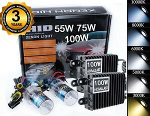 55w 75w 100w H1 H3 H4 H7 H11 9005 9006 Xenon Hid Headlight Conversion Kit Ml