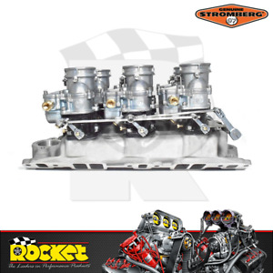 Stromberg Direct Linkage Kit Suit 6x2 Edelbrock Carburettors Strom9261 D
