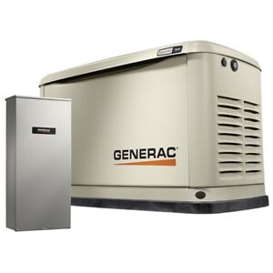 Generac 7030 Guardian Series 9kw Generator With 16 Circuit Ats Switch Nema 3r