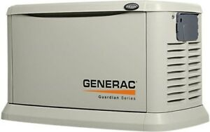 Generac 7043 Guardian Series 22kw Generator Alum Enclosure W 200a Se Ats Switch