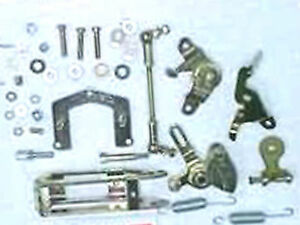 Weber Dcoe Carburetor Top Mount Linkage Kit Single Or Dual Dcoe New