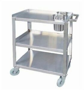 16 X 24 Stainless Steel Push Cart