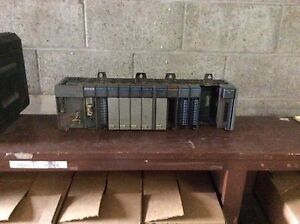 Ab Slc500 Power Supply W 13 Slot Rack 5 02cpu 6 dc Sink 2 dc Source 1 analog