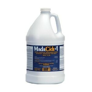 Madacide 1 Gallon Non toxic Cleaner Dental Medical Supply Icu Nursing Restaurant