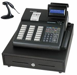 New Sam4s Er 925 Cash Register And Ms9540 Scanner Combo Package