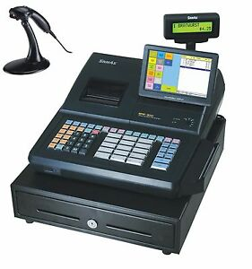 Convenience Store Special Sam4s Sps 530 Rt Cash Register With Ms 9520 Scanner