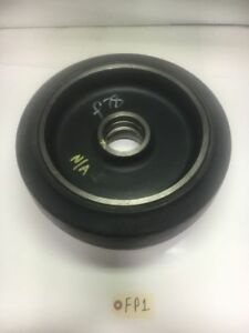 Solideal 15x5x11 1 4 Smooth Fork Lift Tire And Rim 381 127 285 8 Warranty