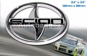 1 Brand New Chrome Scion Tc Rear Badge Chrome Scorpion Badge Chrome Black