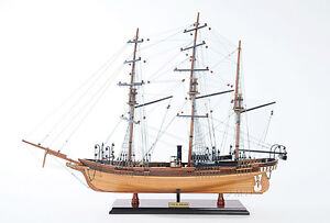 Css Alabama Confederate Tall Ship No Sales 32 Wood Model Sailboat Assembled