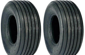 Two 670 15 670x15 Rib Implement Disc do all wagon 6 Ply Tractor Tires Tubeless