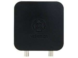 Velleman Pcsu200 Usb Pc Oscilloscope And Signal Generator