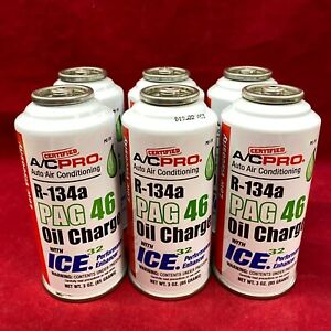 Qty 6 Genuine Idq Quest Auto Air Conditioning Oil Charge Pag 46 Low Viscosity