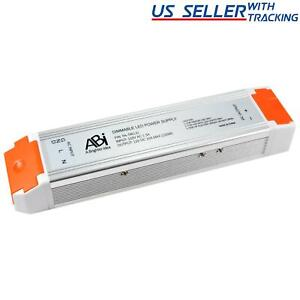 Abi 12v 10a 120w Power Supply Driver Triac Dimmable Transformer For Led Lights