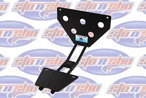 Corvette C6 2005 2013 Base Removable License Plate Holder Bracket Sto N Sho