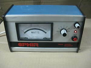 Ophir Laser Power Energy Analog Meter