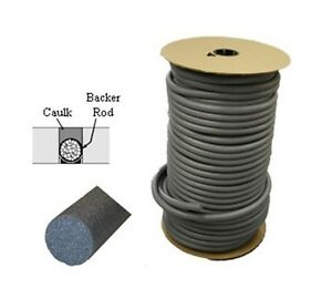 3 4 Closed Cell Backer Rod 400 Ft
