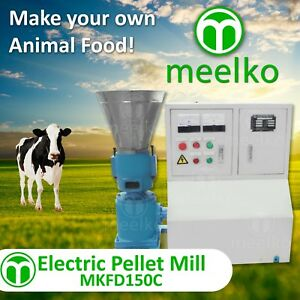 Pellet Mill 5 5kw 7 5hp Electric Engine Ready To Ship In Usa Wood Or Animal Food