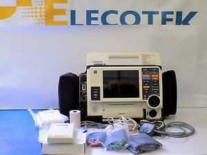 Lifepak 12 Biphasic 12 Lead Spo2 Nibp Etco2 100mm Printer El Screen