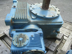 Large Cone Gear Reducer Uu60 120 375 1 Ratio