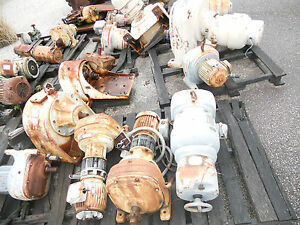 Large Lot Sterling Gear Motor Reducer Parts