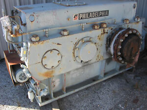 Large Philadelphia Gear Reducer 165hp 21 1 1800 Hp