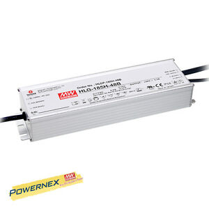 powernex Mean Well New Hlg 185h 24a 24v 7 8a 185w Power Supply Led Driver