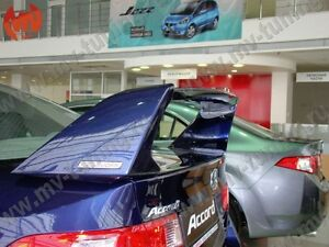 Rear Wing Composite Spoiler Mugen Style For Honda Accord 8 Acura Tsx 2008 2013
