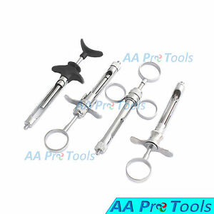Aa Pro Dental Self Aspirating Syringe Cartridge Anesthetic Syringe 1 8ml