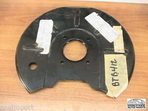 Mgb Front Disc Brake Dust Shield Backing Plate Right Btb412 Nos