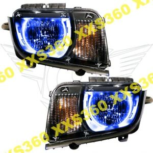 Oracle Halo Headlights Chevrolet Camaro 10 13 Non Rs Only Blue Led