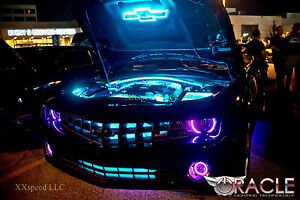 Oracle Halo Headlight Foglights Chevrolet Camaro 10 13 Non Rs Only Purple Led