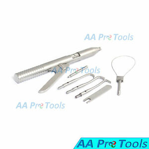 Aa Pro Dental Crown Bridges Remover Automatic Kit Gun Dentist Lab Equipment