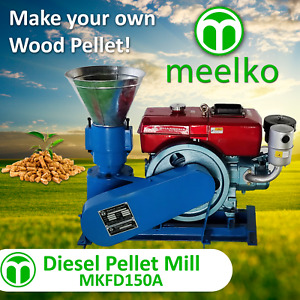 Pellet Mill For Wood Mkfd150a Usa Stock